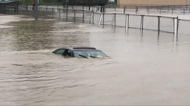 VIDEO: Flood waters force rescues and evacuations