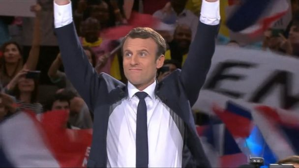 VIDEO: Emmanuel Macron becomes the youngest leader of France since Napoleon
