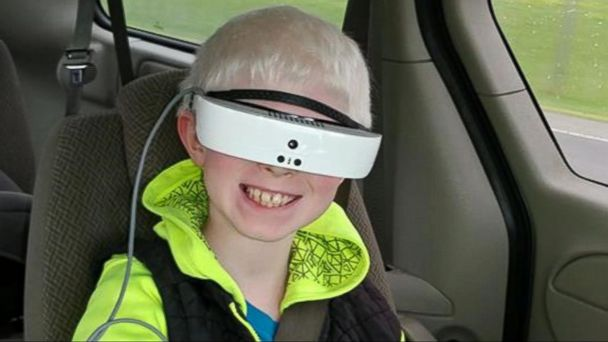 VIDEO: Legally blind boy sees the world clearly for 1st time