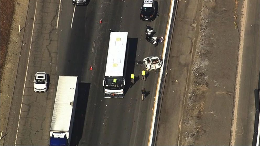 VIDEO: Index: Deadly bus crash in northern California kills off-duty sheriff's deputy