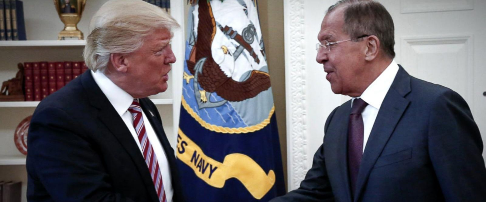 VIDEO: Trump disclosed sensitive Israeli intelligence to Russians, officials say