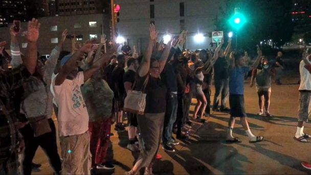VIDEO: Protests after Officer Betty Shelby was found not guilty of manslaughter
