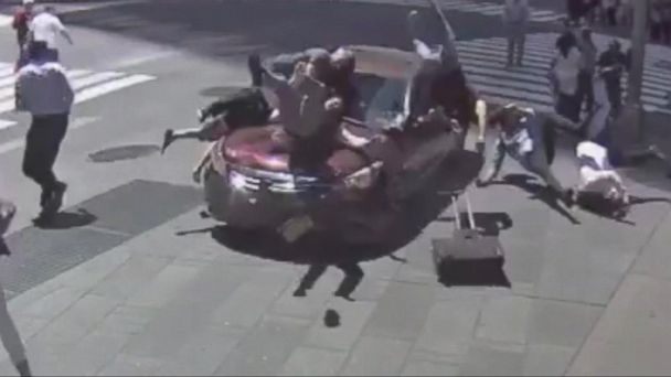 VIDEO: New images show Times Square horror