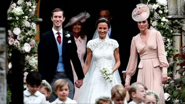 VIDEO: Pippa Middleton gets married in a lavish ceremony
