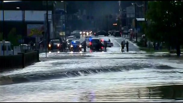 VIDEO: Dangerous high waters and flooding in the Midwest