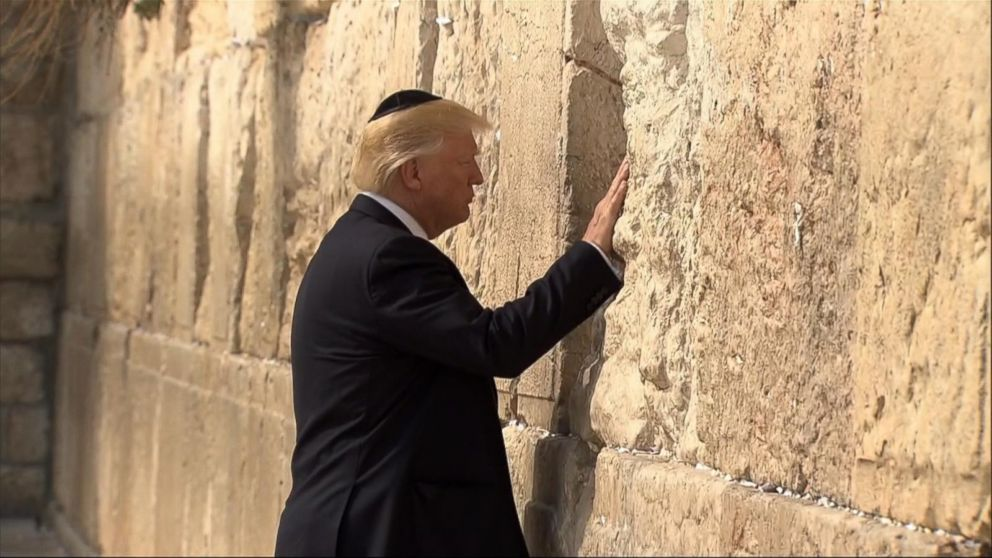 VIDEO: Trump receives warm welcome in the Holy Land