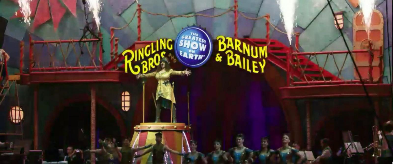 VIDEO: Final Act for the greatest show on Earth