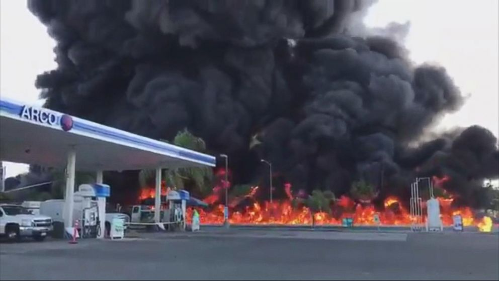 VIDEO: Deadly fuel tanker crash in Atwater, California