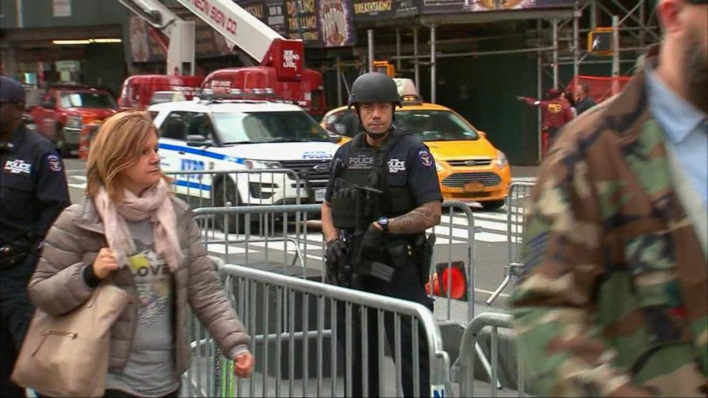 WATCH:  US stepping up security in several public spaces