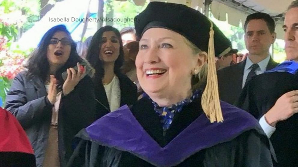 VIDEO: Hillary Clinton speaks to graduating students at her alma mater