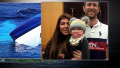 VIDEO: Newlywed mother goes missing during boating accident near the Bahamas