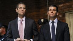 VIDEO: FBI calls emergency meeting with Eric and Donald Trump Jr.