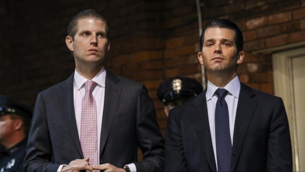 VIDEO: FBI calls emergency meeting with Eric and Donald Trump Jr.