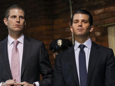 WATCH:  FBI calls emergency meeting with Eric and Donald Trump Jr.