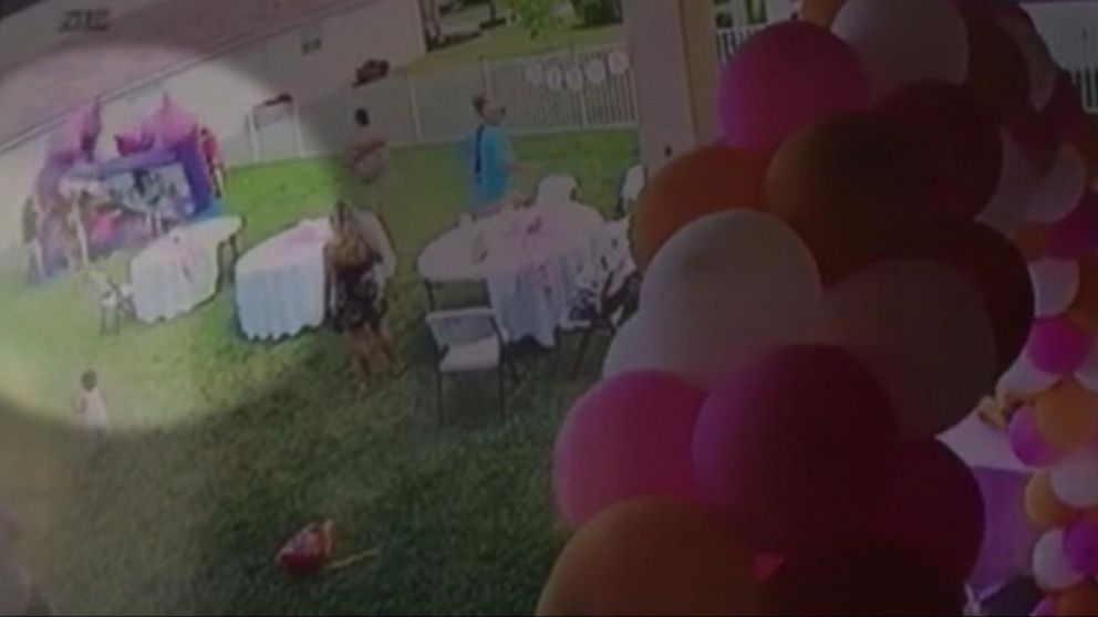 VIDEO: Man pulls plug on bounce house, deflating it with kids inside
