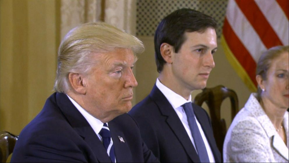 VIDEO: Trump says he has 'total confidence' in Kushner