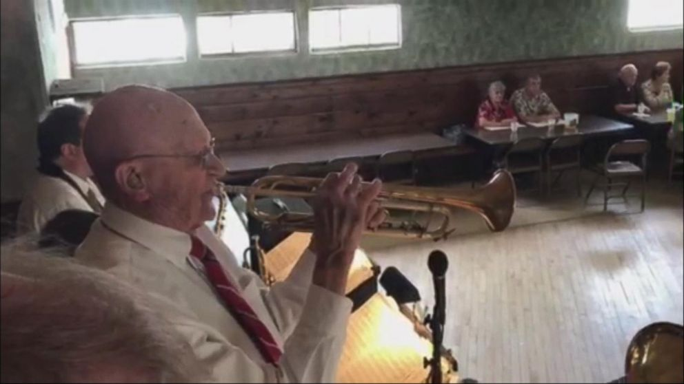 VIDEO: Veteran has played 'Taps' on his trumpet every Memorial Day since 1956