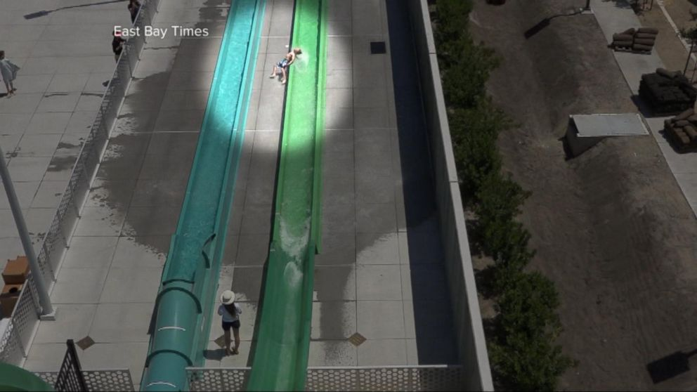 VIDEO: Water park reopens after frightening fall