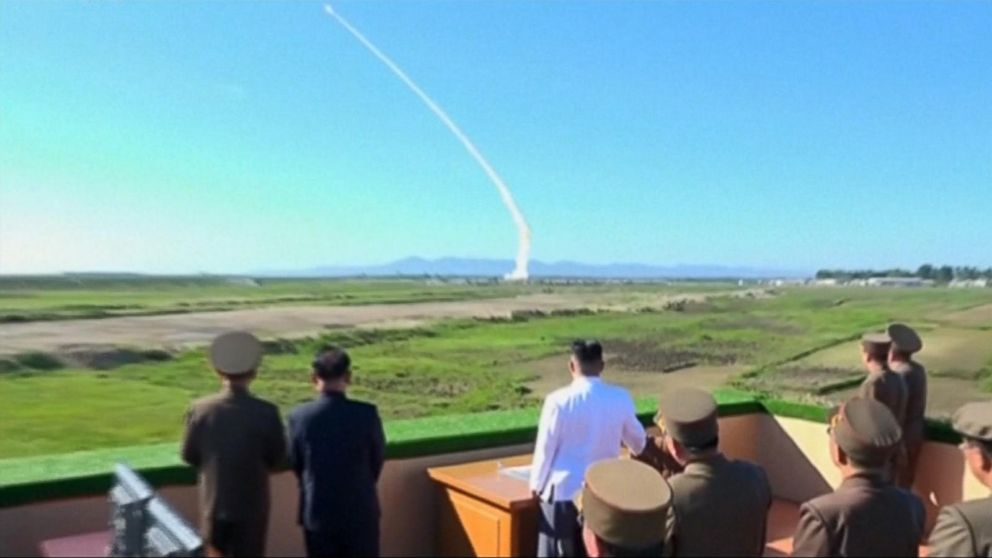 VIDEO: North Korea launches new missile test