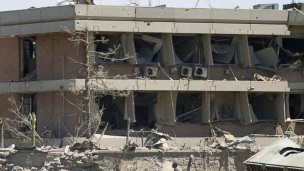 VIDEO: A suicide truck bombing in Afghanistan claims at least 90 lives, including Americans