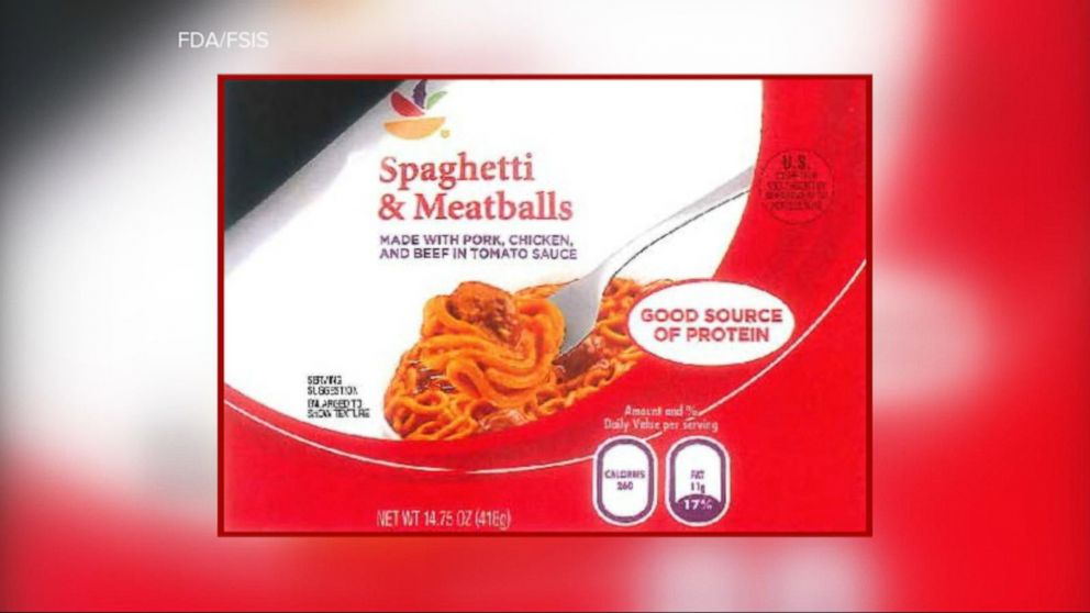 VIDEO: An important nationwide recall for spaghetti and meatballs