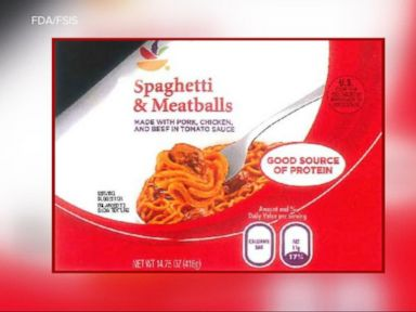 WATCH:  An important nationwide recall for spaghetti and meatballs