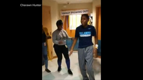 VIDEO: A teenager moves to the beat after lifesaving heart surgery