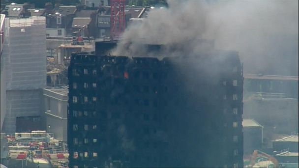 VIDEO: New developments in the deadly London high-rise apartment fire