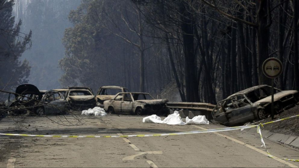 VIDEO: Deadly wildfire kills more than 60 people in Portugal