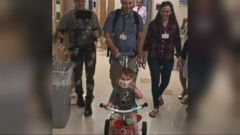 VIDEO: Fathers son gets a new heart