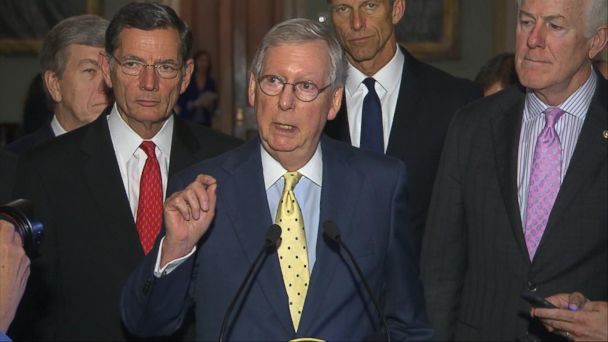 VIDEO: Senate Republicans race to repeal and replace Obamacare