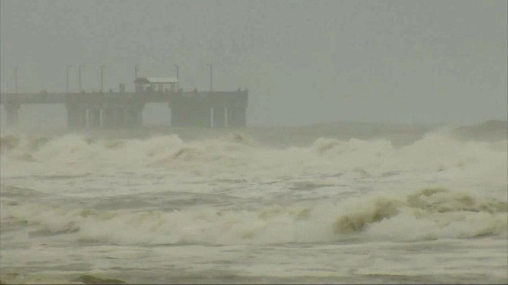 VIDEO: Tropical storm forms in the Gulf of Mexico