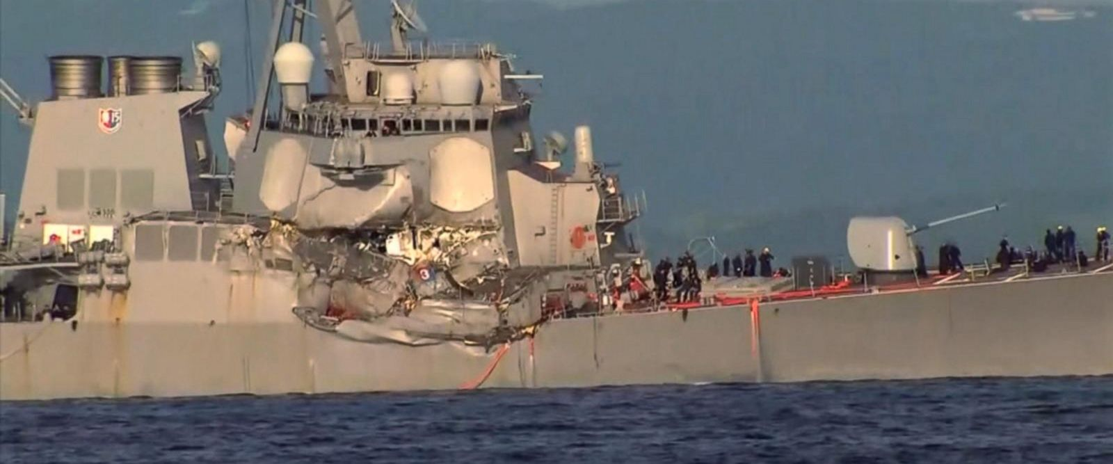 VIDEO: Captain says he gave warning before deadly ship crash