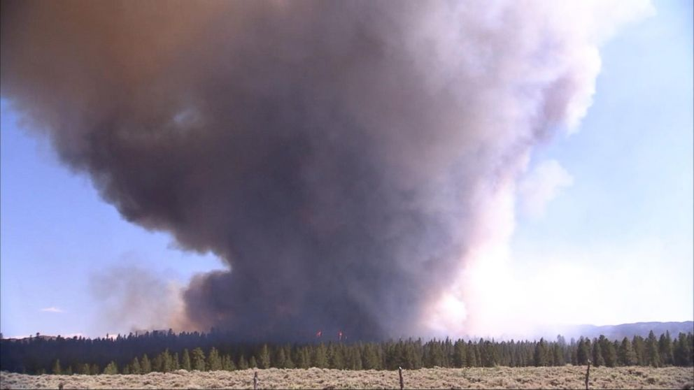 VIDEO: 40 major wildfires burn throughout the Southwest