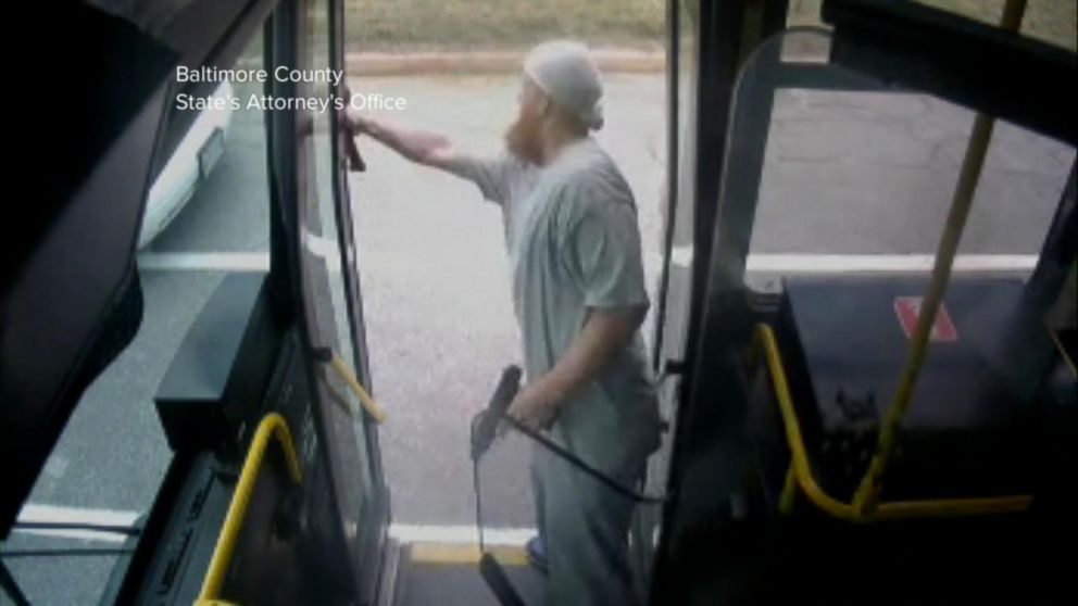 VIDEO: New video shows gunman firing at cops from a Baltimore city bus