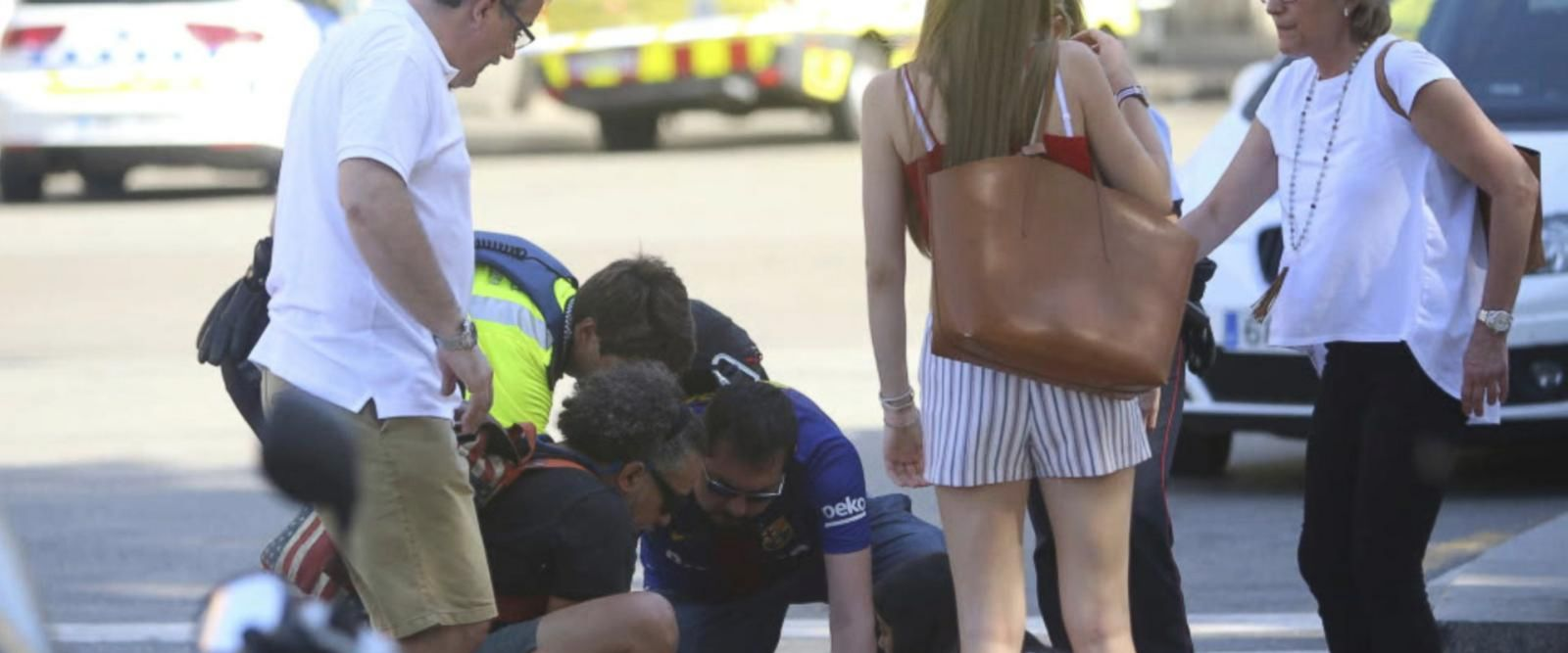 VIDEO: Deadly terror attack on streets of Barcelona