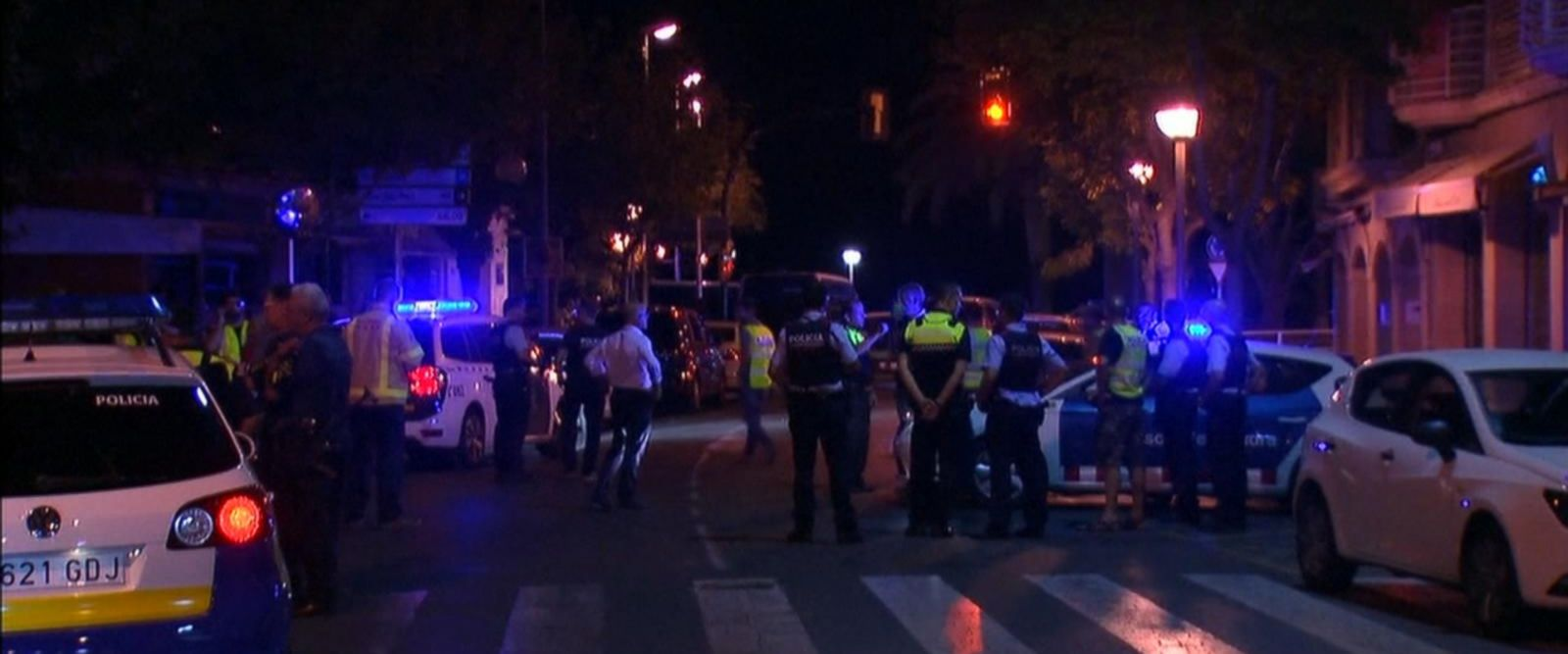 VIDEO: Manhunt on after deadly Barcelona attack