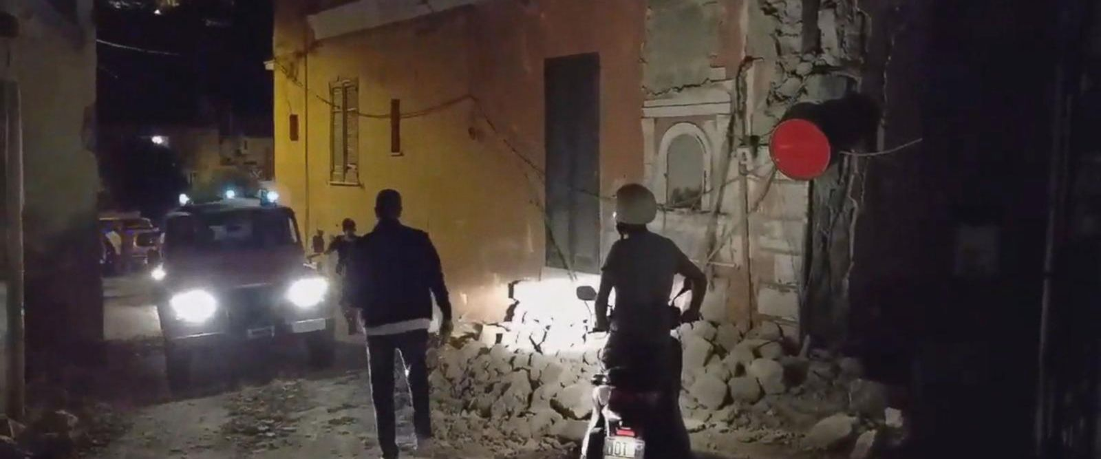 VIDEO: Deadly earthquake rattles Italian resort island