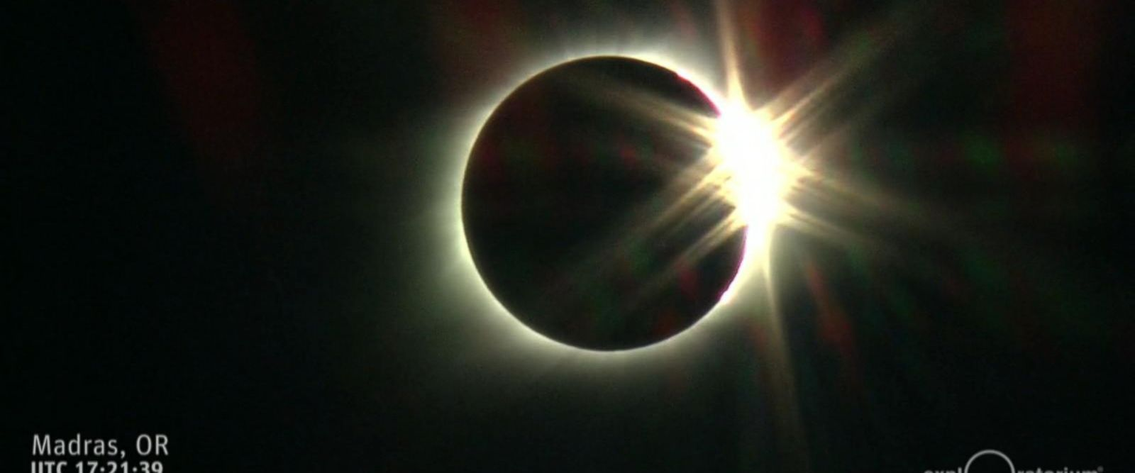 VIDEO: The effects of the total eclipse