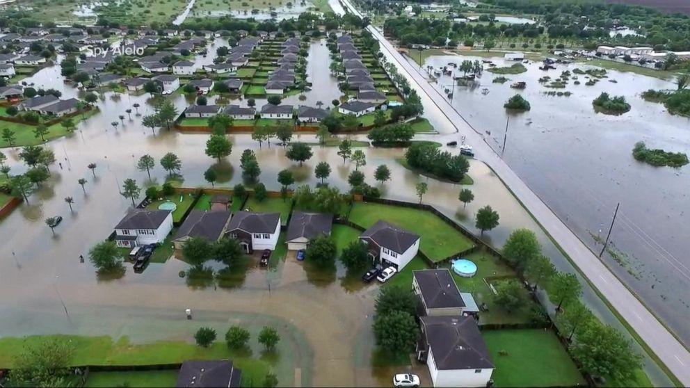 Now Playing: Houston Neighborhoods Go Underwater Overnight