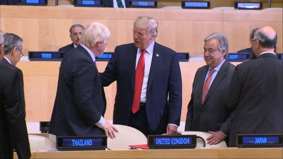 WATCH:  Trump makes his first appearance at UN