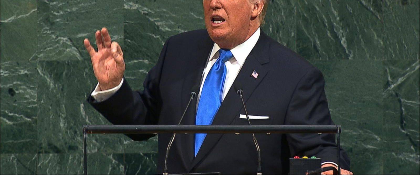VIDEO: Trump vows to 'totally destroy North Korea' at UN assembly