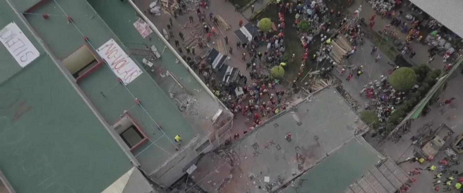 VIDEO: More than 200 dead after magnitude 7.1 quake strikes Mexico