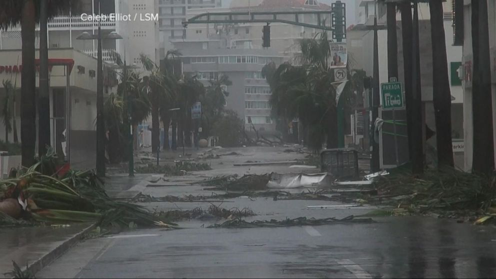 Island Of Puerto Rico Destroyed By Hurricane Maria Video