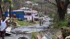 VIDEO: On the island of Dominica, nearly complete destruction by Hurricane Maria