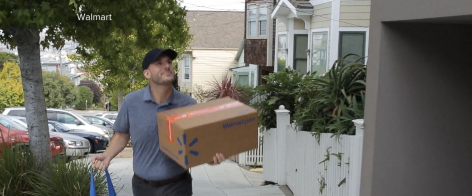VIDEO: Walmart tests out a new grocery delivery service