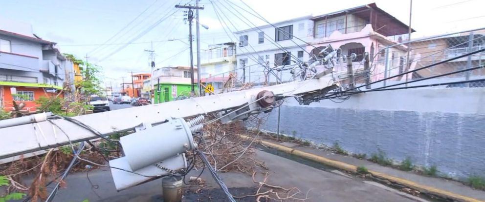 VIDEO: Less than 10 percent of Puerto Rico has electricity 3 weeks after Hurricane Maria
