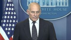 VIDEO: Gen. John Kelly makes deeply personal remarks about loss of his son