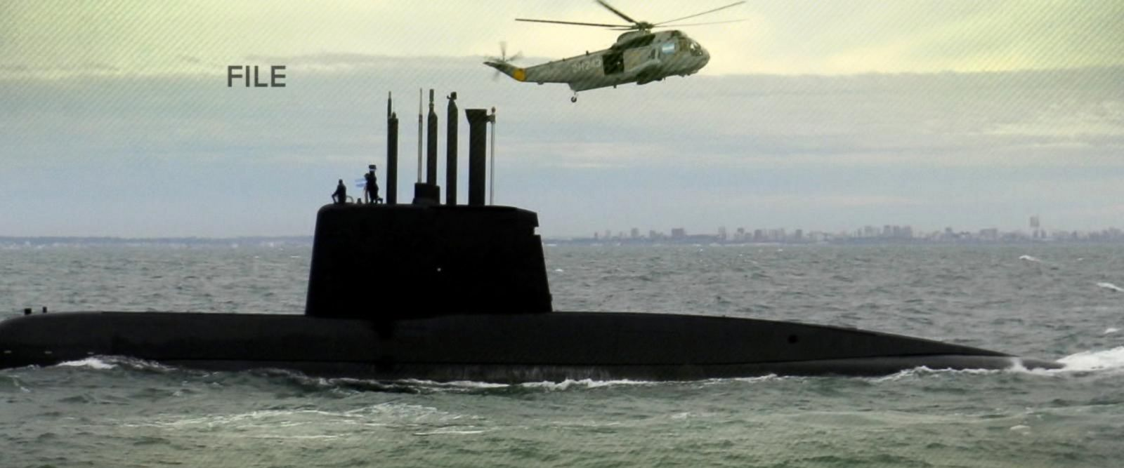 VIDEO: Desperate hunt for submarine and its 44 member crew