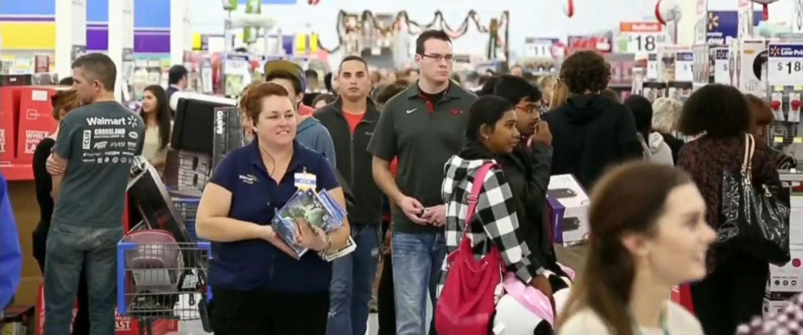 VIDEO: More than 164 million Americans gear up to shop this holiday weekend